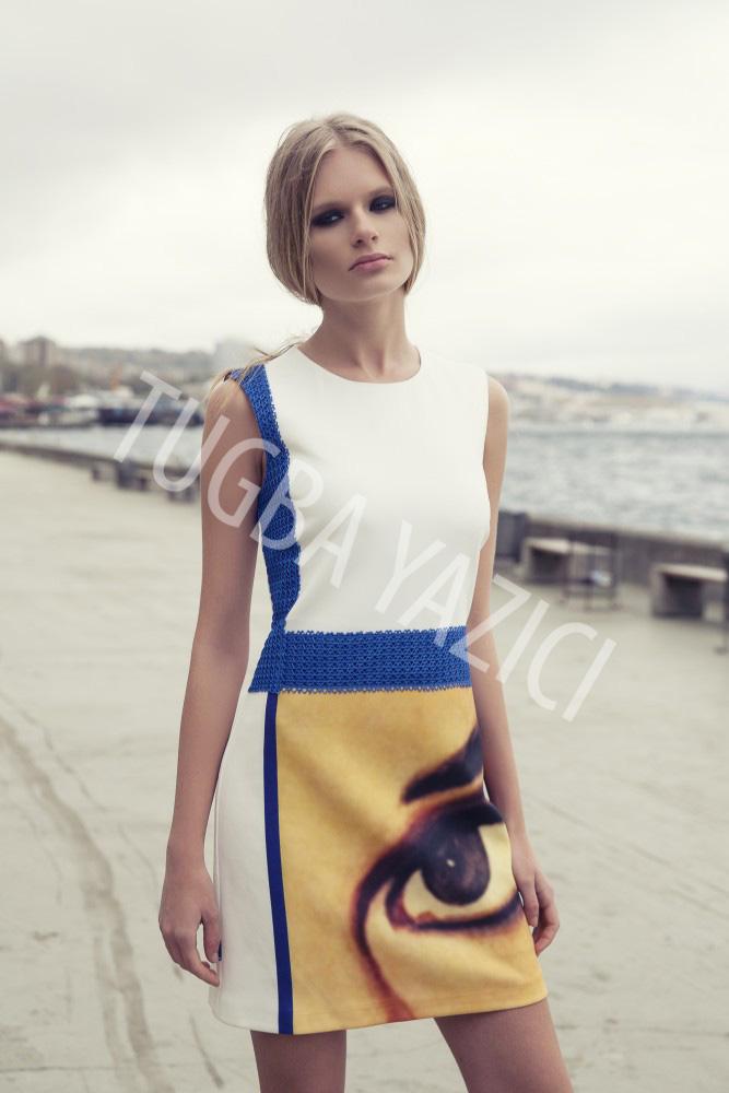 Mondrian Elbise