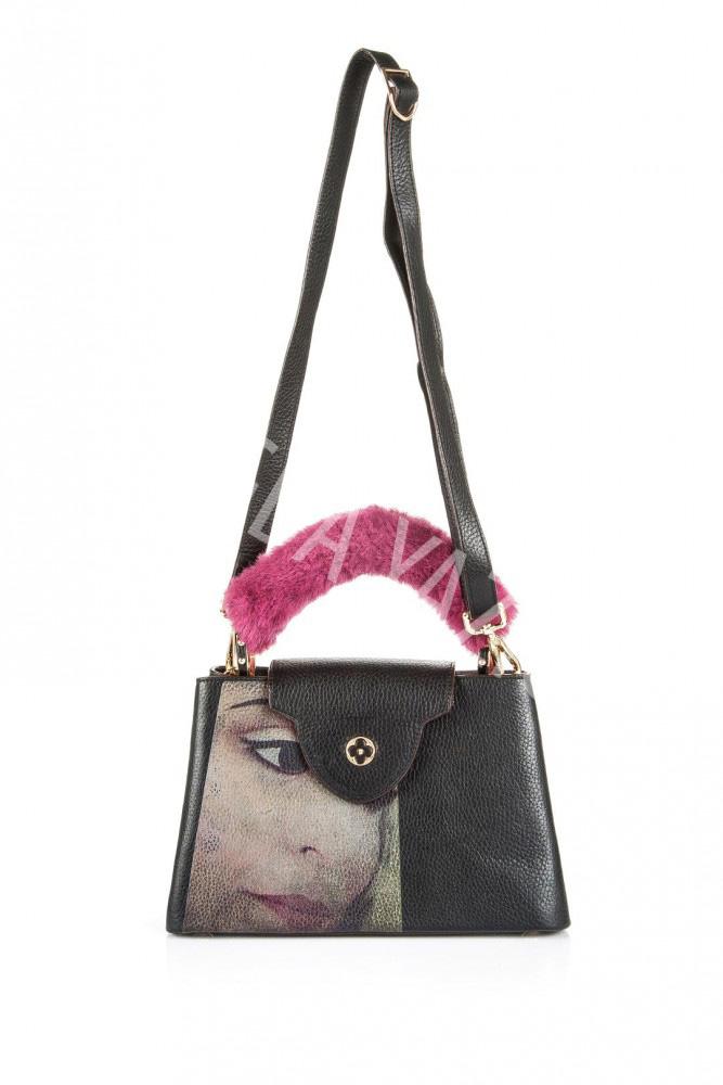 Black Portrait Bag